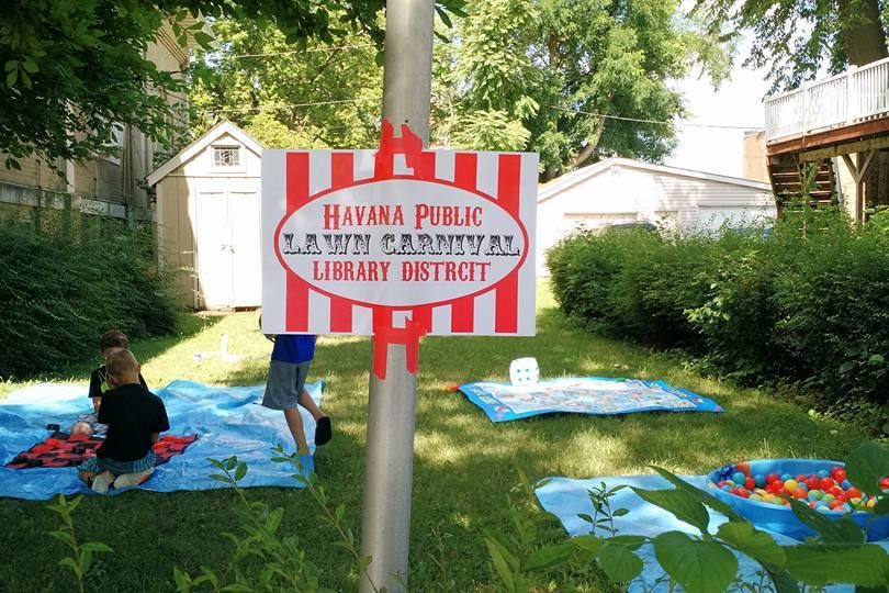 Havana Public Library District Lawn Carnival