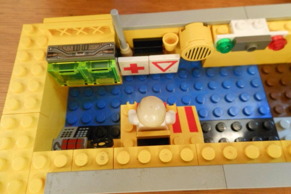 A preview of a creation from Lego Day.